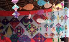 Colorful kites