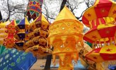 Decorative hanging lanterns