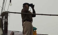 Haryana police on vigil