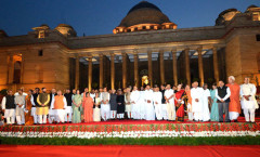 PM Shri Narendra Modi and Ministers