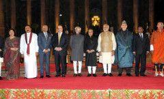 PM Modi with Heads of SAARC