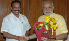 PM Modi meeting Railways Minister Gowda