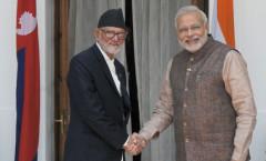 PM Modi & Nepal PM Koirala