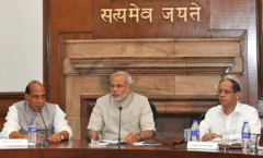 PM Modi chairing first Cabinet Meeting