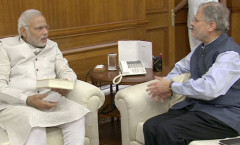 PM Modi meeting Delhi LG Najeeb Jung