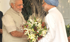 PM Modi meeting former PM Singh