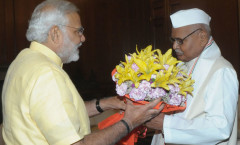 PM Modi meeting MP Governor Ram Naresh