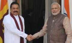 PM Modi & Sri Lanka President Rajapaksa