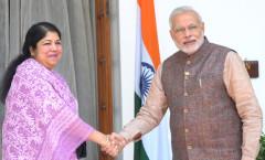 PM Modi & Bangladesh Speaker Shirin