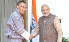 PM Modi & Bhutan PM Tobgay